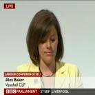 Alex Baker at Conference