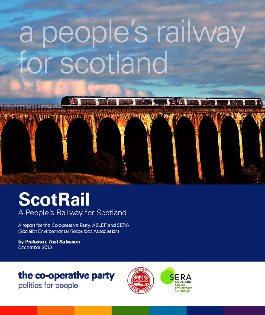thumbnail of Scotrail- A People's Railway for Scotland FINAL