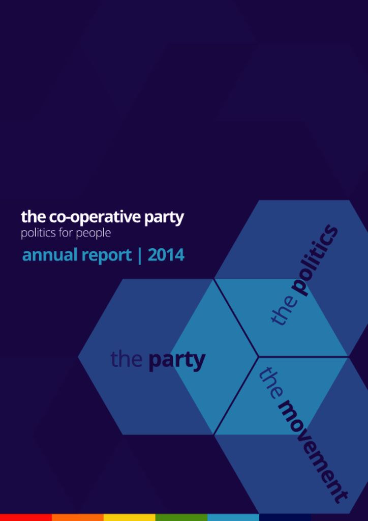 thumbnail of Annual report – 2014 – WEB