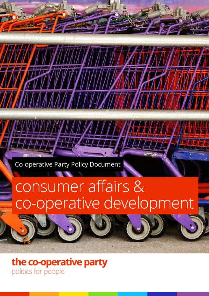 thumbnail of Consumer affairs