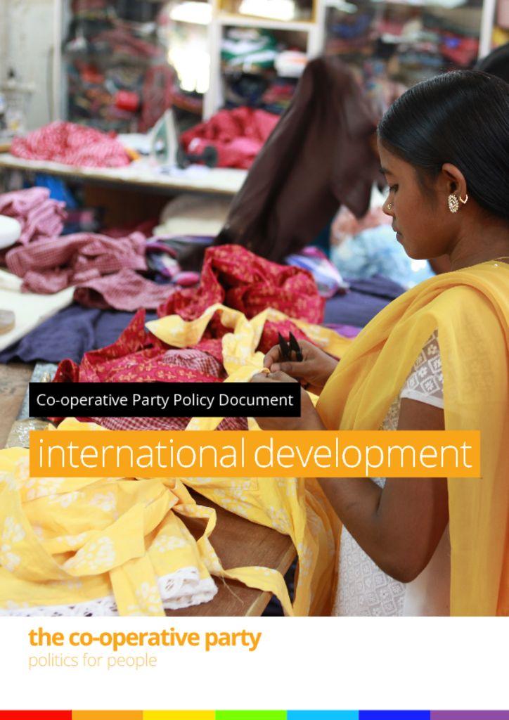 thumbnail of International development