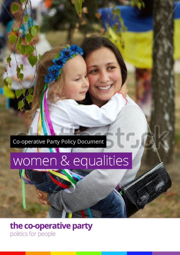 thumbnail of Women Equalities