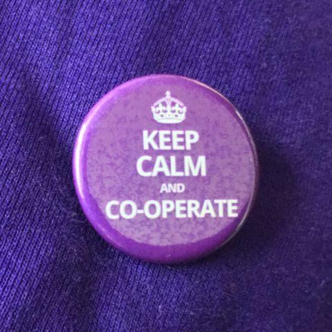 Keep Calm Badge