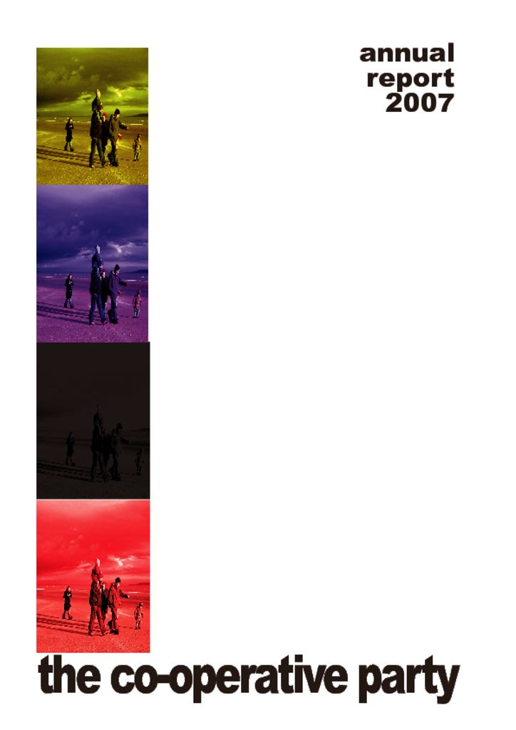 thumbnail of Annual Report 2007