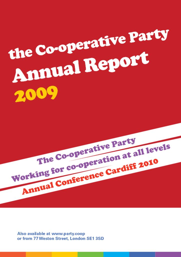 thumbnail of Annual Report 2009