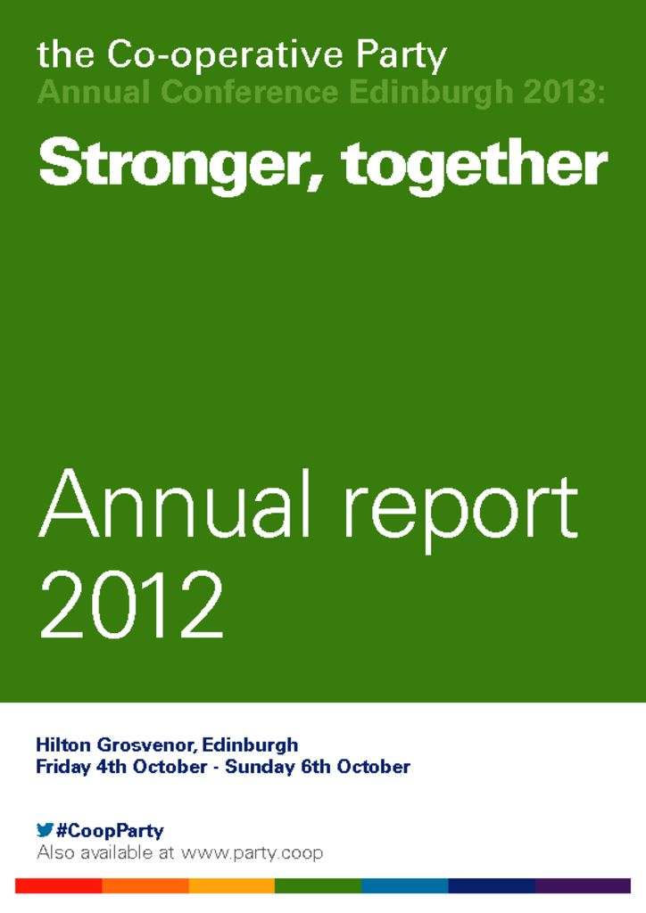 thumbnail of Annual Report 2012