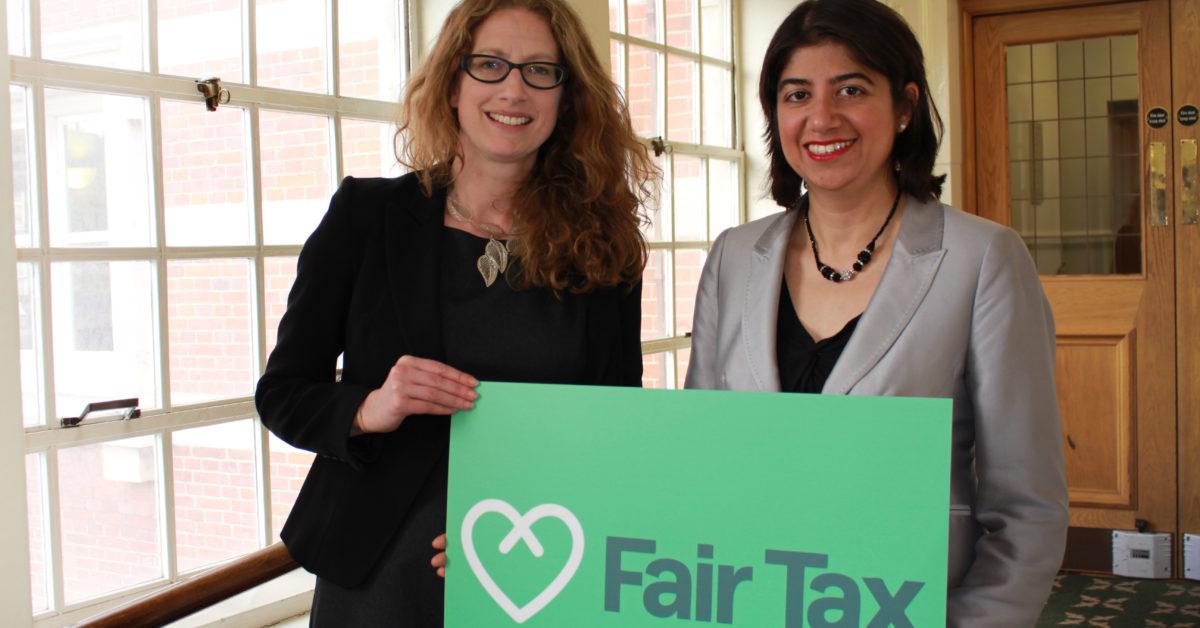General Secretary Claire McCarthy and Labour & Co-op MP Seema Malhotra