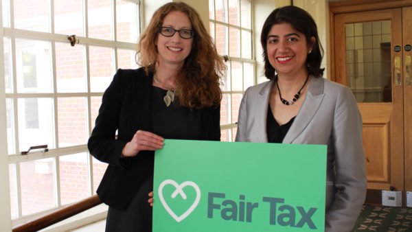 General Secretary Claire McCarthy and Labour & Co-op MP Seema Malhotra