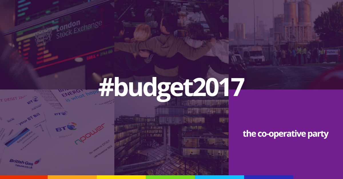 Budget 2017: The Co-operative Alternative – Co-operative Party