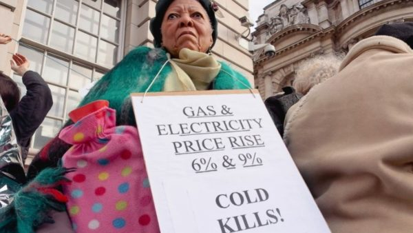 fuel poverty protest