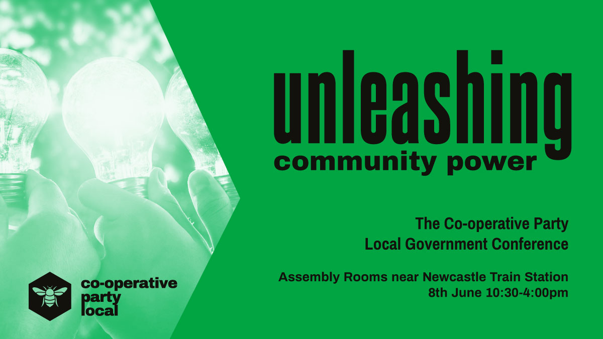 Join us in Newcastle for Unleashing Community Power