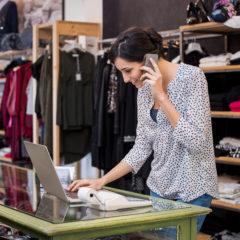 Entrepreneur Talking On Phone