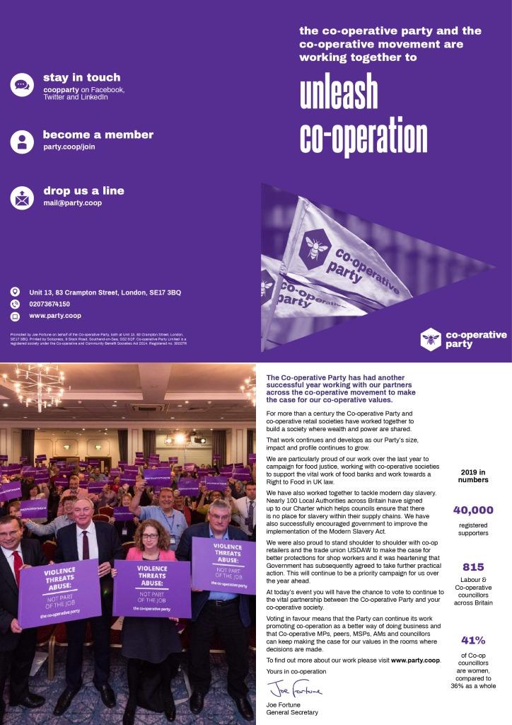 thumbnail of Co-operative Societies Report – Autumn-Winter 2019