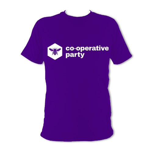Co-operative Party Unisex T-shirt