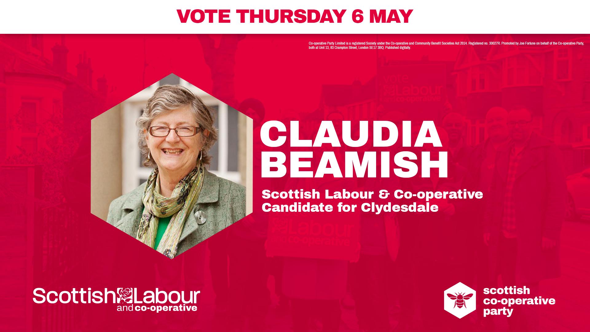 Claudia Beamish