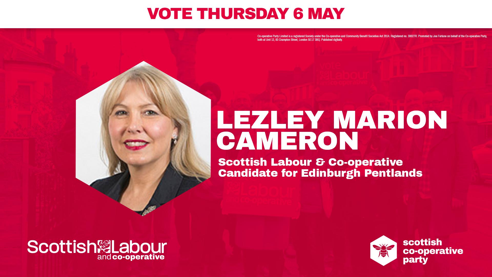 Lezley Marion Cameron
