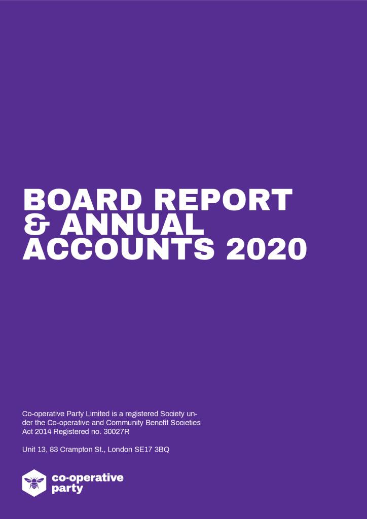 thumbnail of Board-Report-2020