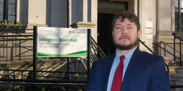 Cllr Andy Hull, Executive Member for Finance, Performance and Community Safety London Borough of Islington