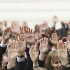 Employees voting