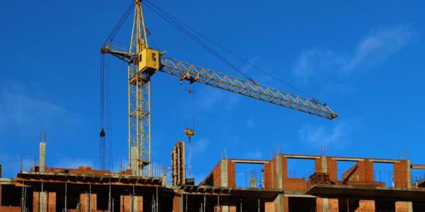 New flats being built