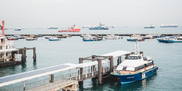 parked yacht beside dock